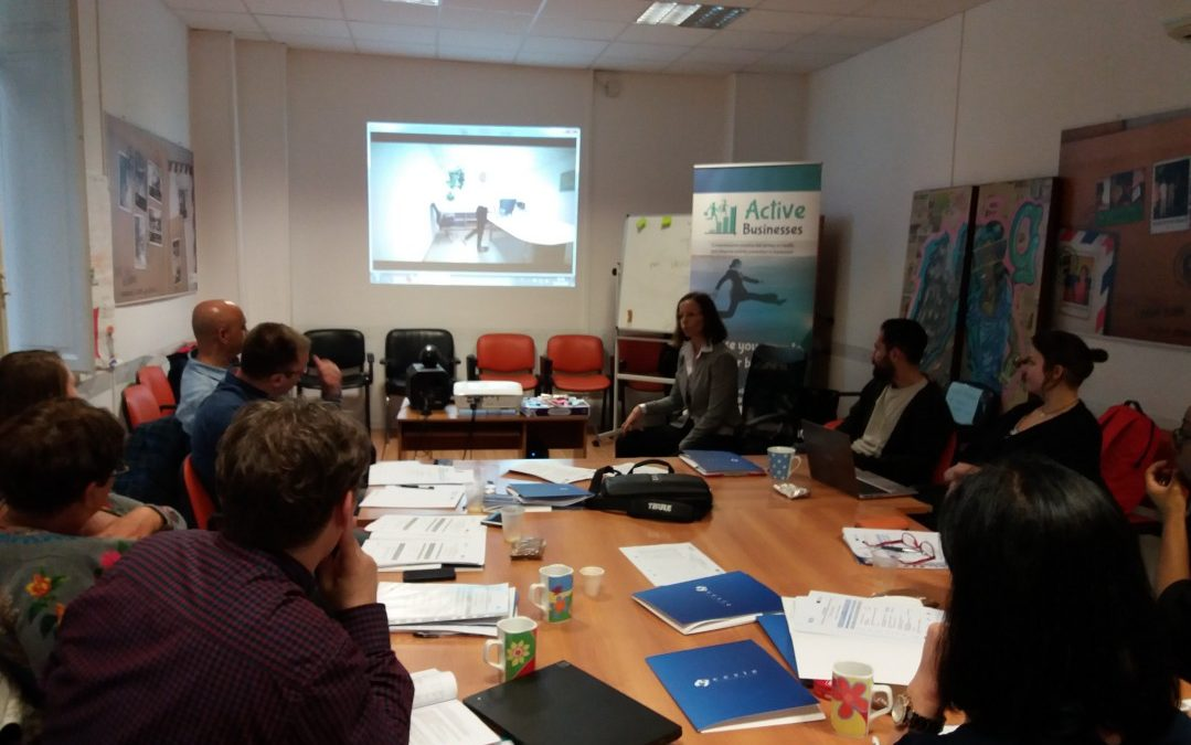 """ACTIVE BUSINESSES"" third partner meeting in Italy. Promoting physical activity in the business and industry sector"